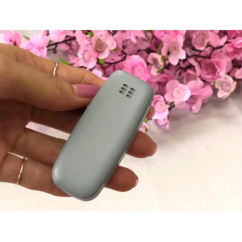 Điện thoại Nokia mini 3310 siêu nhỏ 2 sim 2 sóng,hỗ trợ blutooth,mp3,thẻ nhớ,thay đổi giọng nói ( Bin Store 24h )