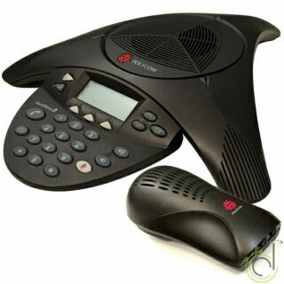 [Mã 159ELSALE hoàn 7% đơn 300K] Điện thoại hội nghị Polycom SoundStation 2 thumbnail
