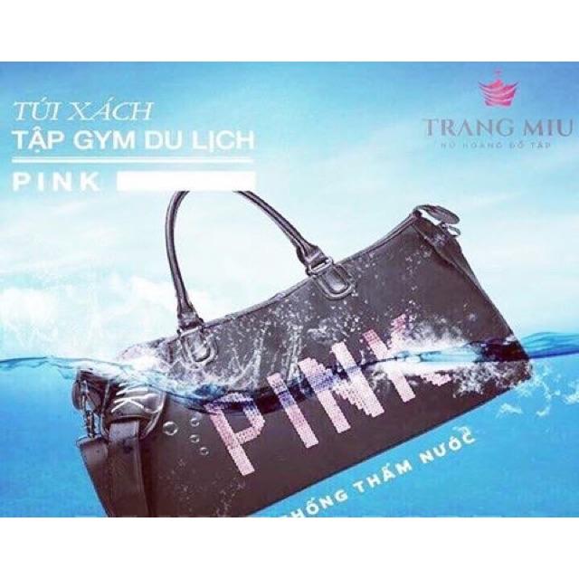 Túi du lịch pink siêu đẹp hot hit