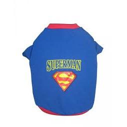 Áo superman cho chó mèo