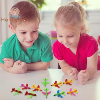 ✿1 Set Mini Assembled Plastic Aircraft Model Educational Toys Kids Gift