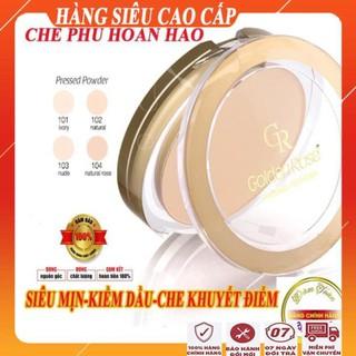 [FreeShip - HÀNG SIÊU CAO CẤP] phấn phủ kiềm dầu siêu mịn che khuyết điểm hoàn hảo Phấn phủ tốt pressd poder golden rose thumbnail