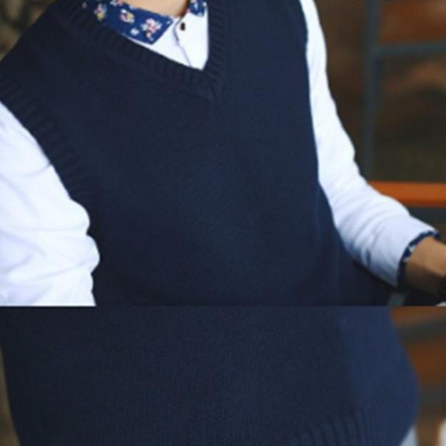 Áo len không tay Gk34 Iyan thời trang cho nam