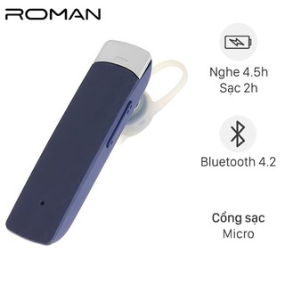Tai nghe Bluetooth Roman R552N Xanh