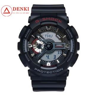 Đồng hồ Nam G-Shock Casio dây nhựa kim-điện tử GA-110-1ADR Chính hãng Casio Anh Khuê thumbnail