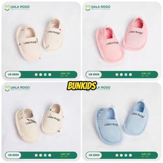 Giày tất UALA & ROGO sơ sinh vải modal 0-3M ( dùng thay tất ) 8909 [ UalaRogo ]