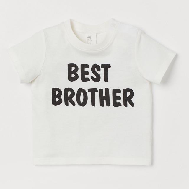 Áo HM best brother cho bé trai