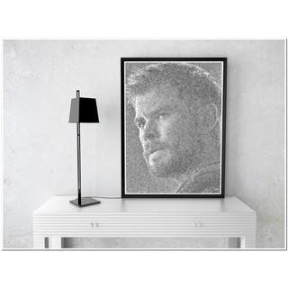 Free Ship – Tranh vẽ chân dung bằng bút bi Thor