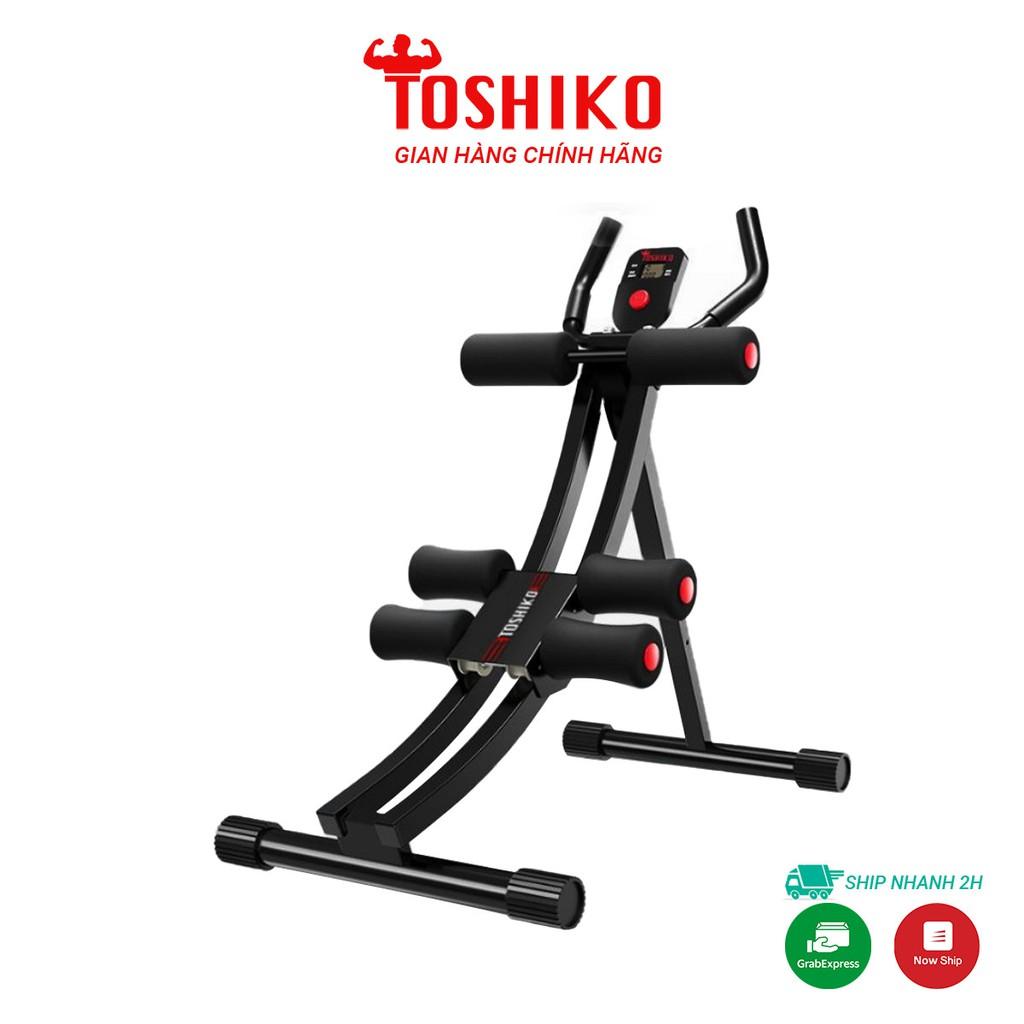 Máy tập cơ bụng Toshiko,dụng cụ tập cơ bụng cho nam và nữ giúp tăng cơ giảm mỡ,giảm cân hiệu quả- GB01