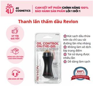 Thanh lăn thấm dầu, cây lăn hút dầu làm từ đá núi lửa, giấy thầm dầu thấm hút dầu thừa trên da mặt Revlon Oil thumbnail
