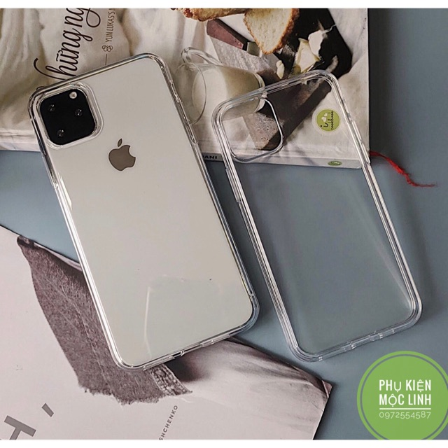 ⚡️ Iphone 11 / Pro / Max ⚡️ xs max xr x 8plus 7plus 8 7 6plus 6s 6 ỐP SILICON TRONG SUỐT SIÊU TRONG DẺO MỎNG KHOE MÁY