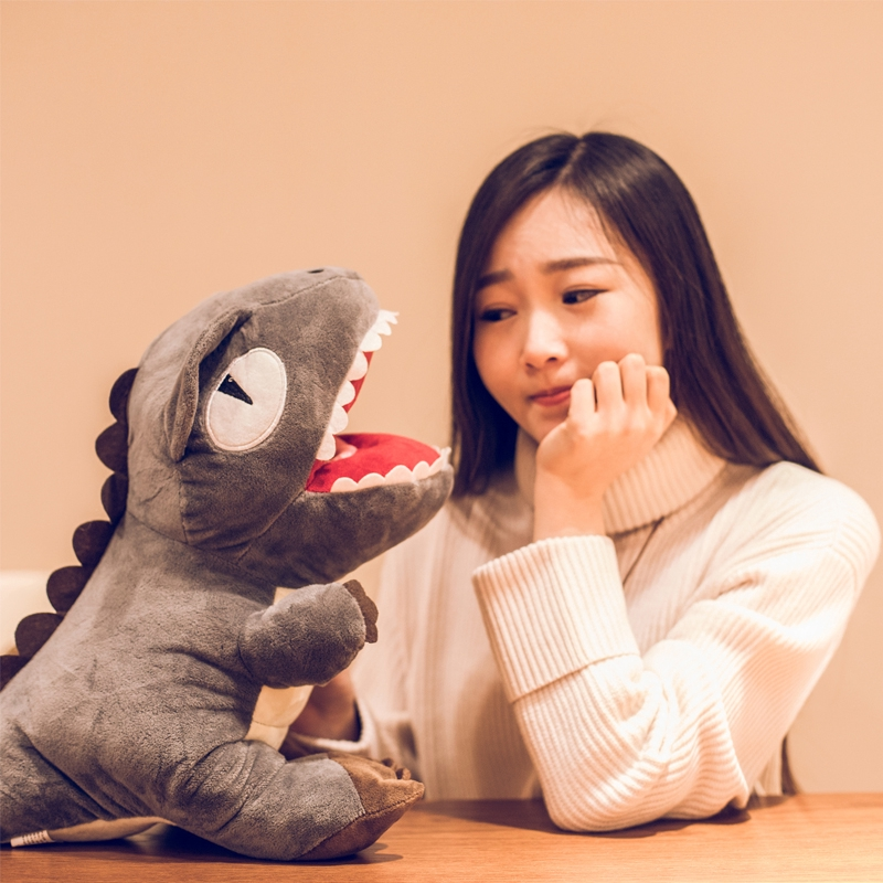 ♘Overlord Dragon Doll cute dinosaur plush toy cuddle Pillow Rag boy birthday gift to send girl