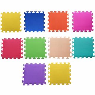 Bộ 10 tấm Thảm xốp lót sàn cho bé (9 màu khác nhau) (30x30cm)