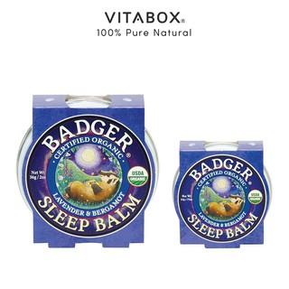 Badger - Sáp Hữu Cơ Hỗ Trợ Giấc Ngủ - Sleep Balm [USDA Organic]
