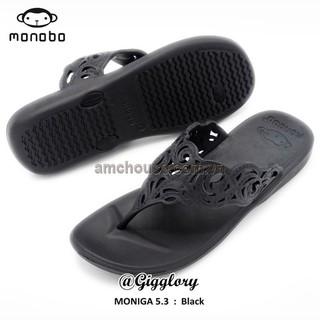 Dép kẹp nữ Thái Lan nữ MONOBO - MONIGA 5.3 - ĐEN thumbnail