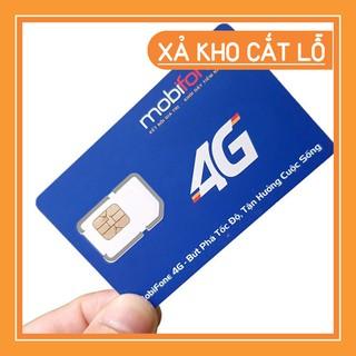 Sim 3G/4G Mobifone Không Giới Hạn Dung Lượng Tốc Độ Cao Trọn Gói 6 Tháng