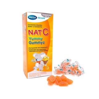 Kẹo Dẻo Bổ Sung Vitamin C – NAT C Yummy Gummyz (hộp 25 gói)