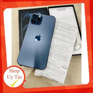 [ Giá sập sàn ] Điện thoại Apple iPhone 12 Pro Max Full Box - 256GB - Bản Quốc Tế Mĩ LL A - BH 1 Năm thumbnail