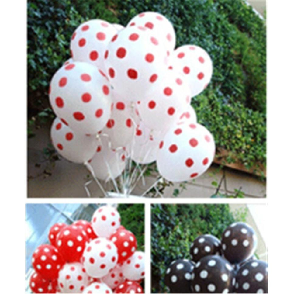 10pcs 12cm Inflable Ball Latex Ballon Wedding Birthday Xmas Decoration