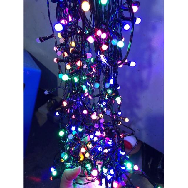 Rèm Led Fairy Lights trang trí 7 màu 220V