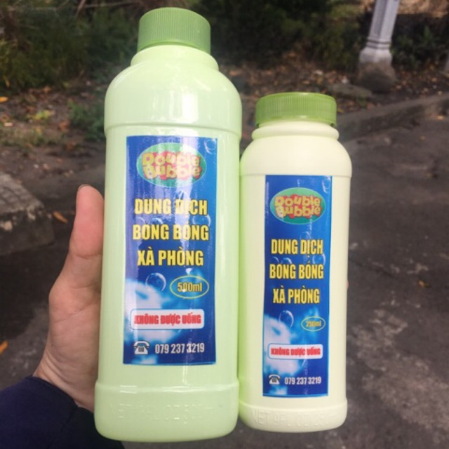 Dung dịch nước bong bóng xà phòng 250ml /500ml