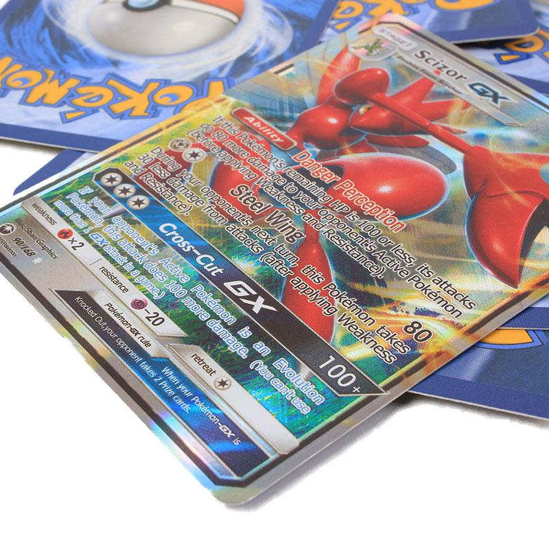New Pokemon Shining Cards Pikachu EX GX MEGA ENERGY TRAINER Board Games Trading Cards Adult Children Pokemons Battle