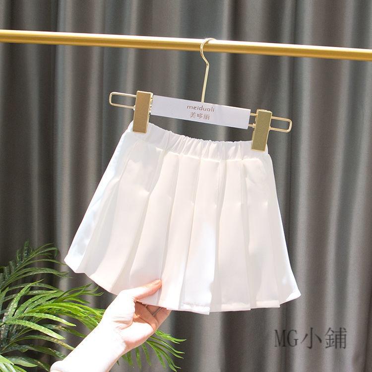 Bộ Áo Thun Ngắn Tay + Chân Váy Xinh Xắn Dành Cho Bé Gái 2020