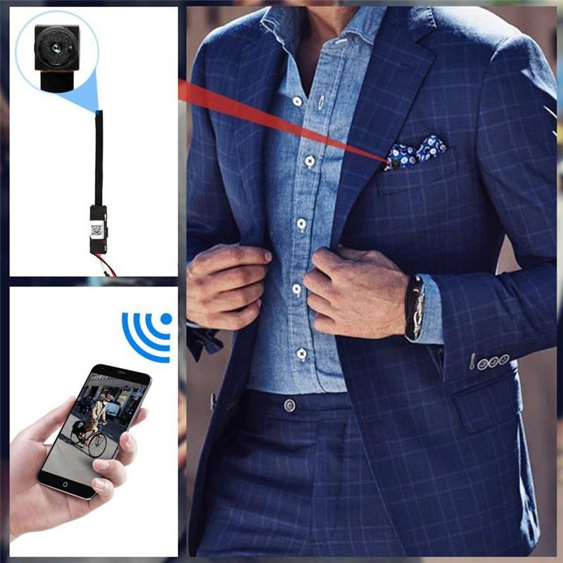 Camera Wifi Mini khuy áo FULL HD 1080P