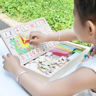 [Mẹ và bé] Bảng gỗ toán học thông minh phát triển trí tuệ cho bé [ SP039331]