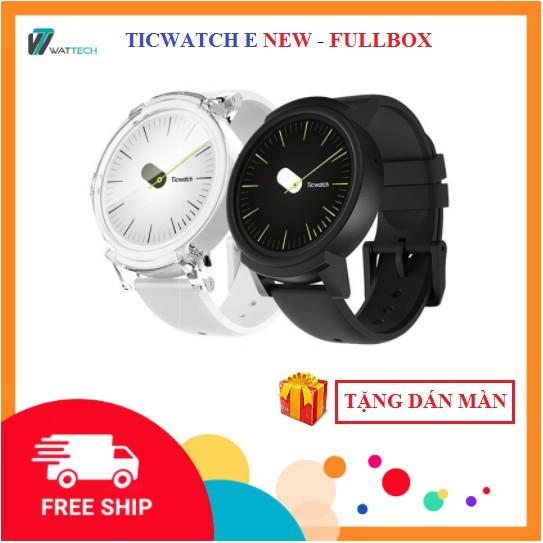 Đồng hồ thông minh Ticwatch E New Fullbox