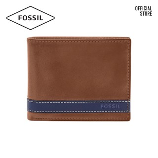 Ví cầm tay gập đôi nam thời trang Fossil Quinn ML3653400 - màu nâu thumbnail