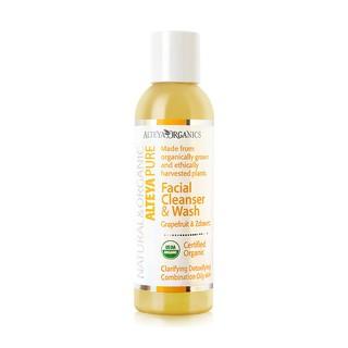 Sữa Rửa Mặt Cây Bưởi Chùm & Hoa Zdravetz Hữu Cơ Alteya Organics Facial Cleanser & Wash, Grapefruit & Zdravetz, 150ml thumbnail