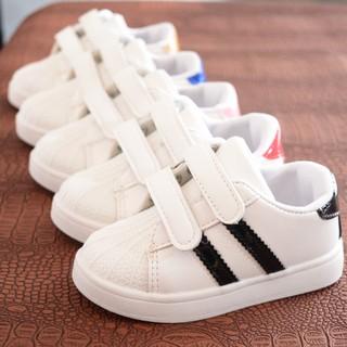Giày thể thao kẻ sọc đi êm chân cho bé trai bé gái