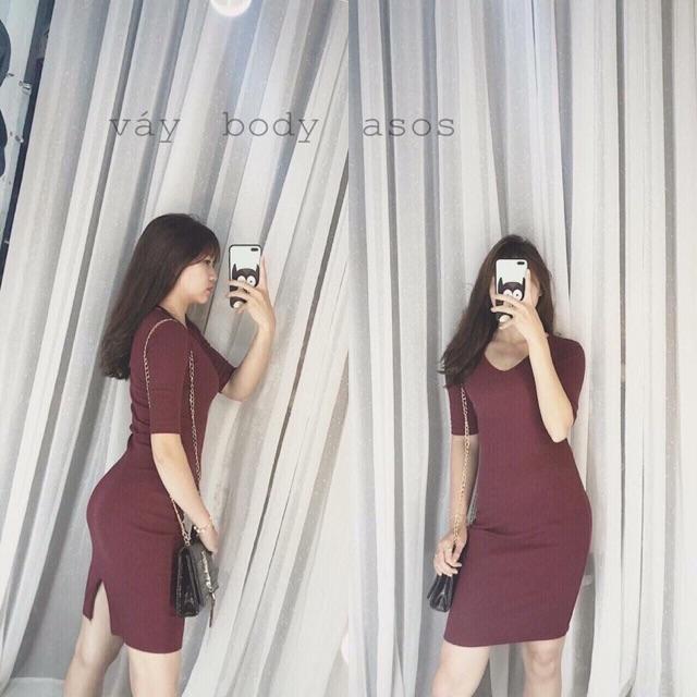 Váy len tăm body - 2905128 , 424684254 , 322_424684254 , 65000 , Vay-len-tam-body-322_424684254 , shopee.vn , Váy len tăm body