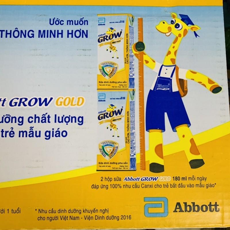 Thùng sữa Abbott Grow 48x180ml