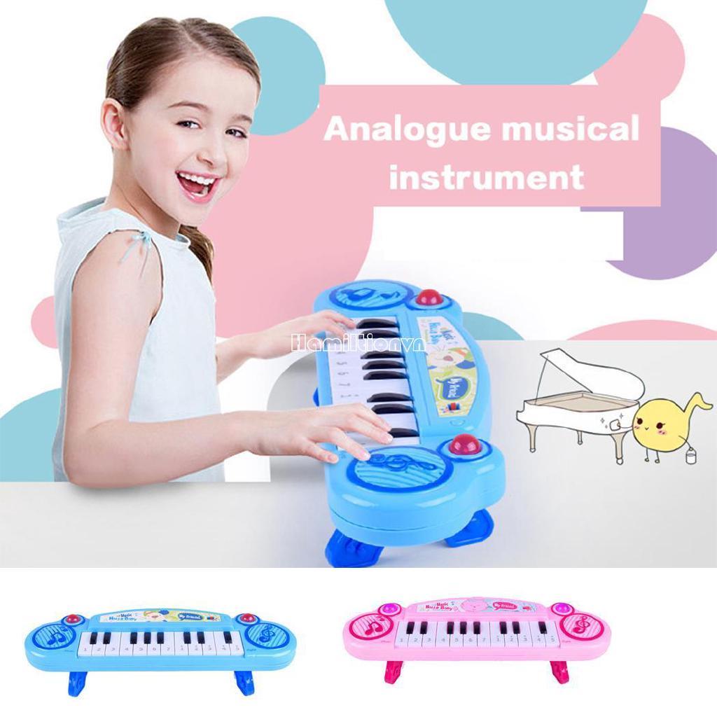 ❤COD Baby Music Instruments Keyboard Early Piano Kids Preschool Learning Toys