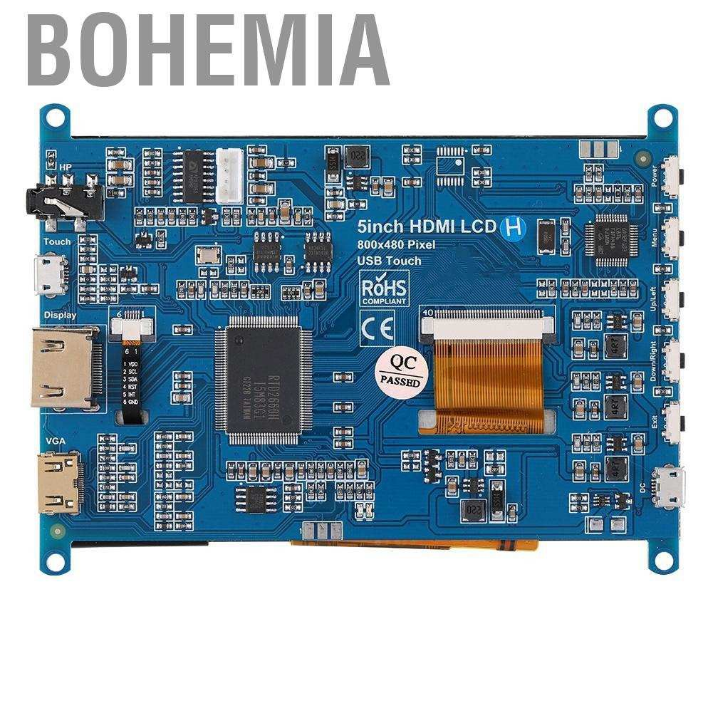 Màn Hình Cảm Ứng 5-inch Hdmi Lcd (H) 800x480 Cho Raspberry Pi