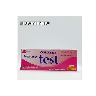 [Mẫu Mới] Que thử thai Quick Test Quicktest - hộp 1c thumbnail