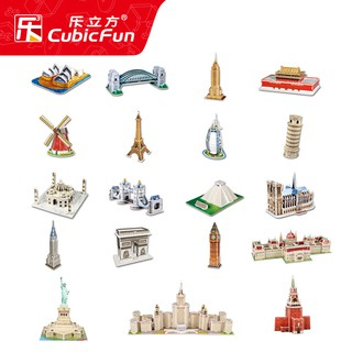 [MUA 4 TẶNG 1] Mô hình lắp ghép 3D xốp Cubic Fun – Kỳ quan thế giới