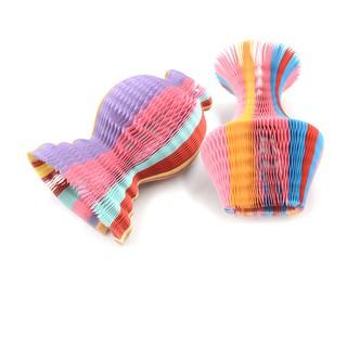 NBY❤❤Novelty Handmade Paper Hat Flower Vase Magic Sunbonnet Hat Kids Gif