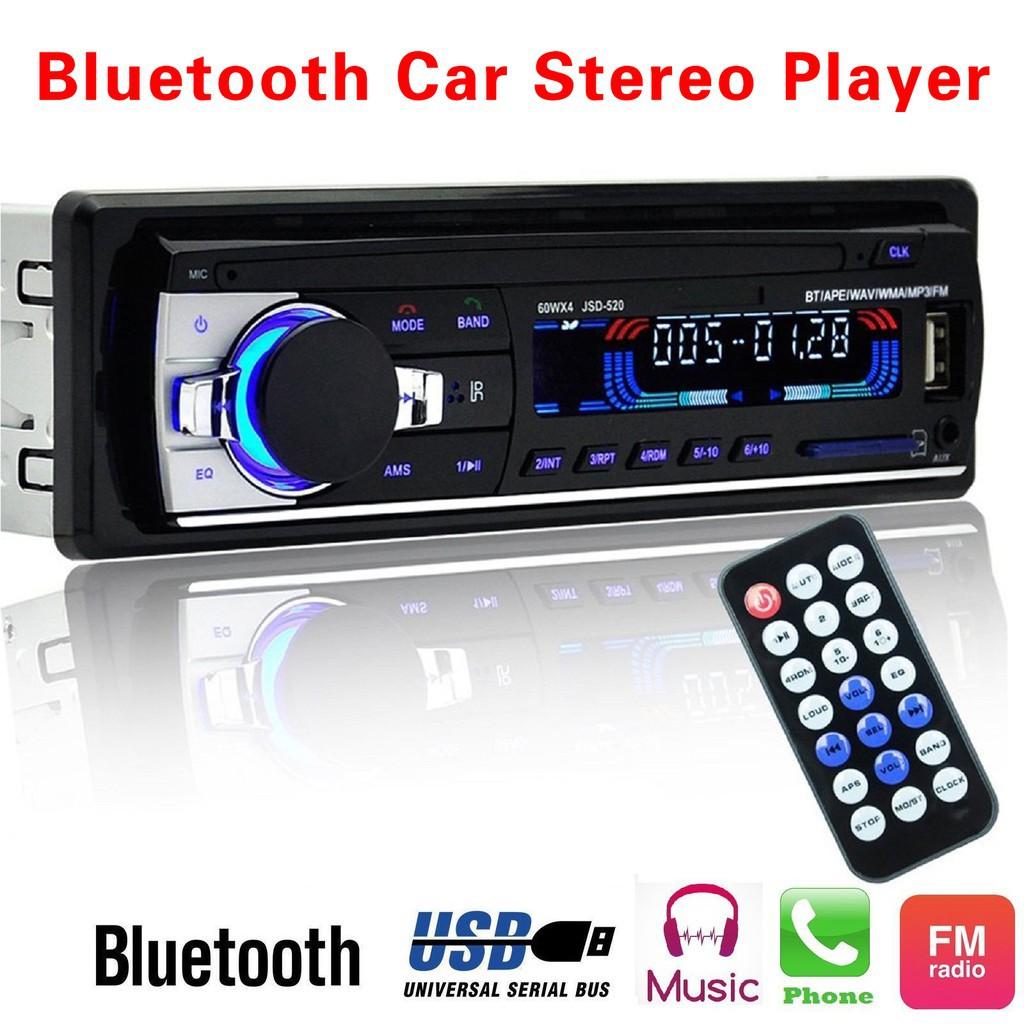 ❤READY STOCK❤Đầu nghe nhạc MP3/ USB/ SD/ AUX-IN/ FM cho xe hơi