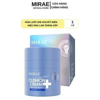 Kem lười Mirae giúp da trắng sáng dưỡng ẩm che mờ khuyết điểm MIREA CICA PLUS CUSHION CREAM 30ml/hũ