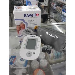 Máy đo huyết áp bắp tay B.Well PRO-35-Nhập khẩu chính hãng Thụy Sỹ -Bảo hành 5 năm(1 đổi 1)