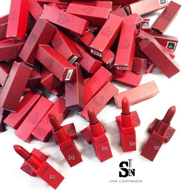 Son thỏi lì 3CE Red Recipe - 2917126 , 397426865 , 322_397426865 , 300000 , Son-thoi-li-3CE-Red-Recipe-322_397426865 , shopee.vn , Son thỏi lì 3CE Red Recipe