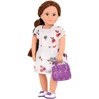 Búp bê Battat Ensley váy hoa dịu dàng thumbnail
