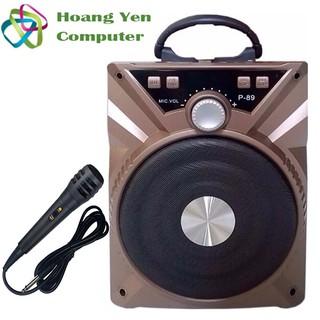 [Tặng Micro] Loa Karaoke Bluetooth P88 89 - BH 3 tháng thumbnail