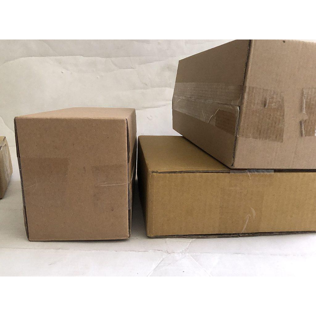 Hộp giấy carton GIÁ RẺ 18x13x9, số lượng 100 hộp Trường An Carton