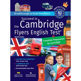Sách - Succeed in the Cambridge Flyers English Test (kèm CD)