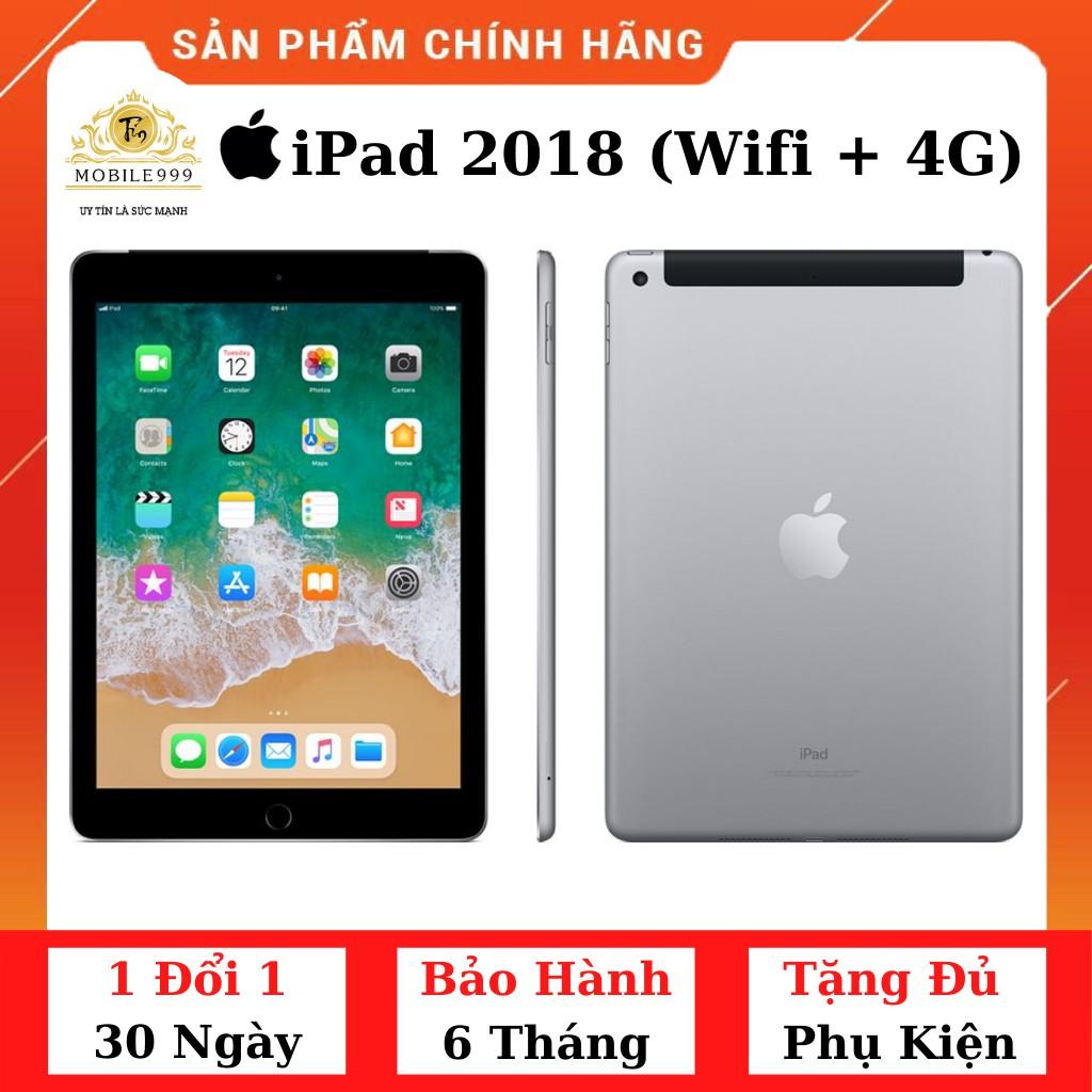 Máy Tính Bảng iPad 2018 Gen 6 (Wifi + 4G) 32GB Chính Hãng Zin Đẹp 99%