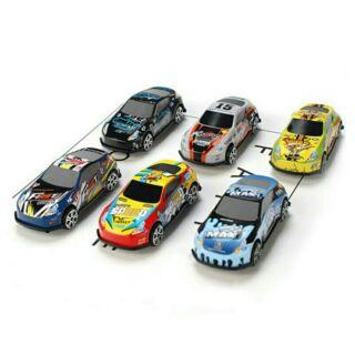 Bộ trò chơi 6 chiếc xe đua thể thao mini độc đáo